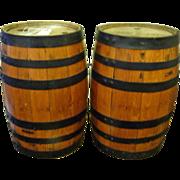 Oak Barrels for Gunpowder or  Whiskey