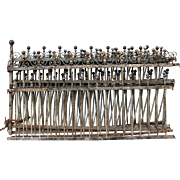 SALE PENDING Iron Fence Victorian c. 1880