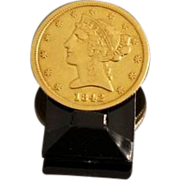 SALE PENDING 1842 US Gold Half Eagle 5 Dollar Coin
