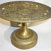 SALE Antique French Bronze Tazza Compote Roman Greek Gods