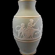 Camille Tharaud Limoges France Bisque Biscuit Porcelain Cherub Vase Pate Sur Pate