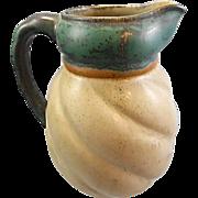 Louis Lourioux French Art Pottery Ceramic Pitcher Ewer Art Deco Period