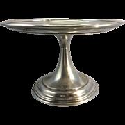 1922 Elkington Silver Plate English UK Compote Tazza Small Cake Dessert Stand