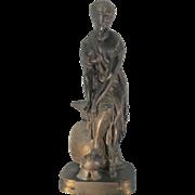 REDUCED Emile Hebert Bronze Sculpture Thetis France French Greek Mythology