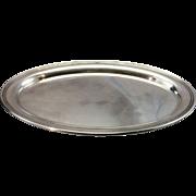 Vintage Gorham Sterling Silver Oval Salver Tray