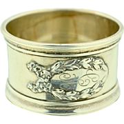 Shreve & Company Sterling Silver Napkin Ring Design Number 6991