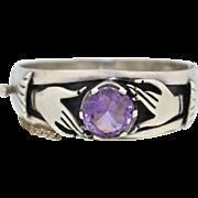 Los Ballesteros Sterling Silver Hand Bracelet