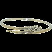 SALE PENDING Sterling Silver Snake Armlet Bracelet