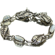 Cini Sterling Silver and Moonstone Bracelet
