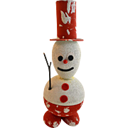 Snowman With Chimes In His Head