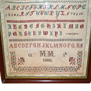 German Sampler,with Date.