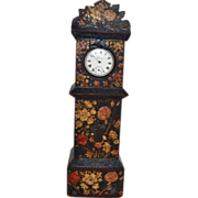 Watch Holder, aka, Watch Hutch for Pocket Watch, Hand Painted ,19th c.