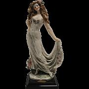 Collectible Italian Giuseppe Armani Figurine Celebration 1998 Signed 10th Year Celebration  ..