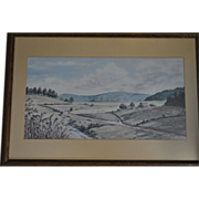Signed John Kollock Water Color Print Limited Edition #411/500