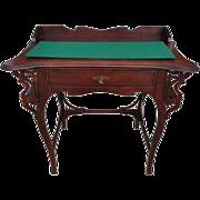 "Rare Antique Victorian Writing Desk Etagere Circa 1880 21""D X 35""W X 31.5""H"