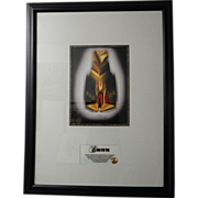"""Inspirational Signed, Limited Edition Print 1 of 998, """"Born For This"""" 42.5"""" x 3"""