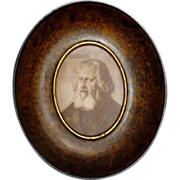 Miniature Portrait of Hieronymus Holtzschuer - c. 20th Century, Germany