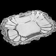 Sheffield Silver Plated Rectangular Serving Platter - 20th Century, USA