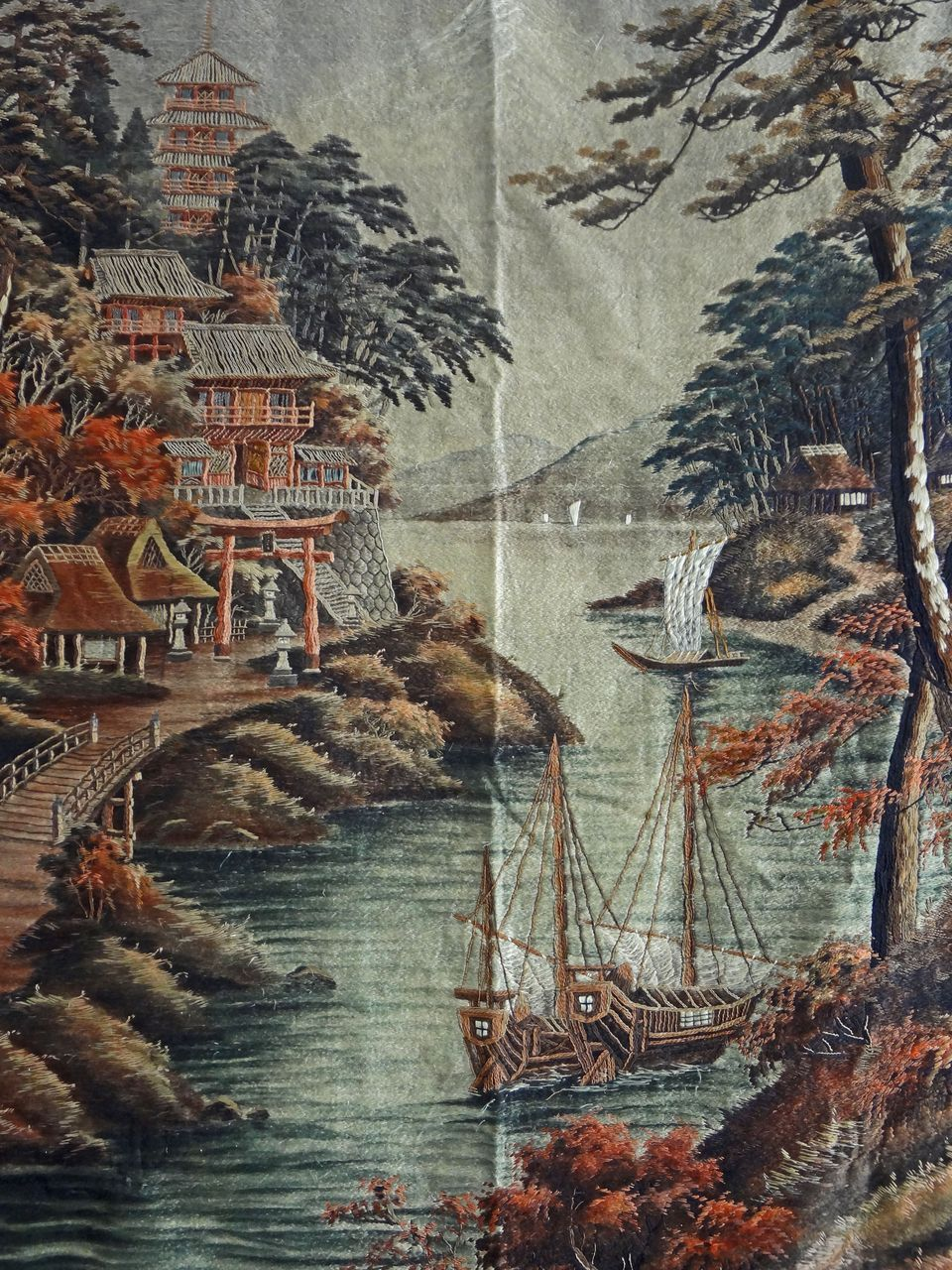Asian Tapestry Wall Hangings