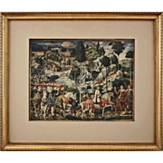 Procession of the Magi after Benozzo Gozzoli - 20th Century, Italy
