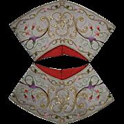 Antique Liturgical Vestment Cuffs or Epimanikia