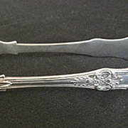 Victorian English Sterling  tongs