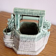 SOLD Vintage McCoy Wishing Well Planter