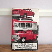 1979 Ford Truck Owners Guide