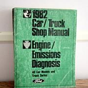 1982 Car/Truck Ford Service Manual