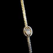 Goldette NY Single Stone Bracelet