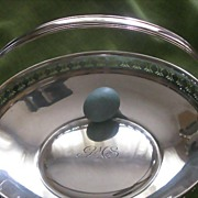 Antique TIFFANY & Co Sterling Silver Cake/Easter Basket