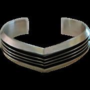 Sterling Silver Tom Hawk Bracelet