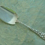 """SALE Baltimore Rose by Schofield Sterling Jelly Slice  """"M"""" monogram"""