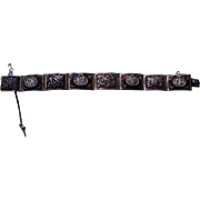 SOLD Romantic Sterling Silver Chinese Bracelet