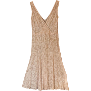 1920's Ecru Lace Dress