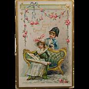 Valentine Postcard,1910