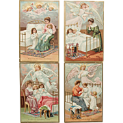 SOLD Set of 4 Nighttime Prayer Postcards
