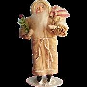 Great santa OOAK made like the treasured old German Santa's