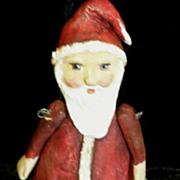 Santa Primitive art doll~OOAK by Jude Kapron