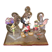 Mickey Mouse anniversary display piece
