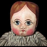 Folk art hand painted doll OOAK