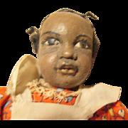Black charismatic girl doll- OOAK
