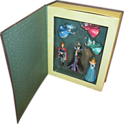 Sleeping beauty ornament dolls
