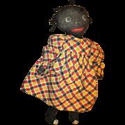Old Black stockinette doll