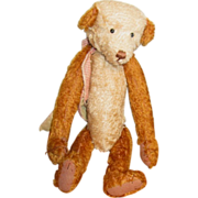 Darling jointed mohair Artist bear