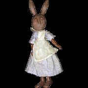 Primitive  Bunny Rabbit   sculpted OOAK