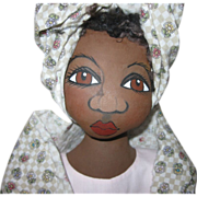 Black doll hans made OOAK