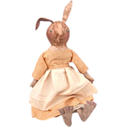 Adorable sculpted Bunny rabbit