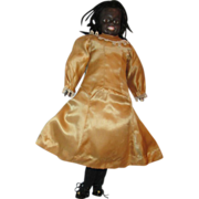 SALE Charming Claramade Black bisque doll