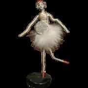 Beautiful vintage bisque head Ballerina